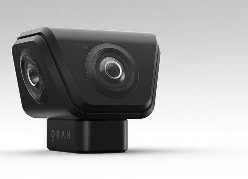 Cámara 360º para fotos en todas las direcciones